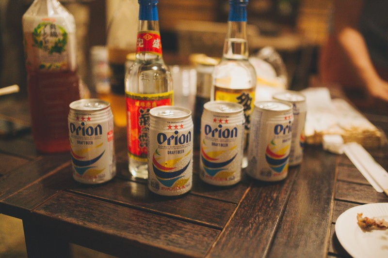 orion DRAFT BEER